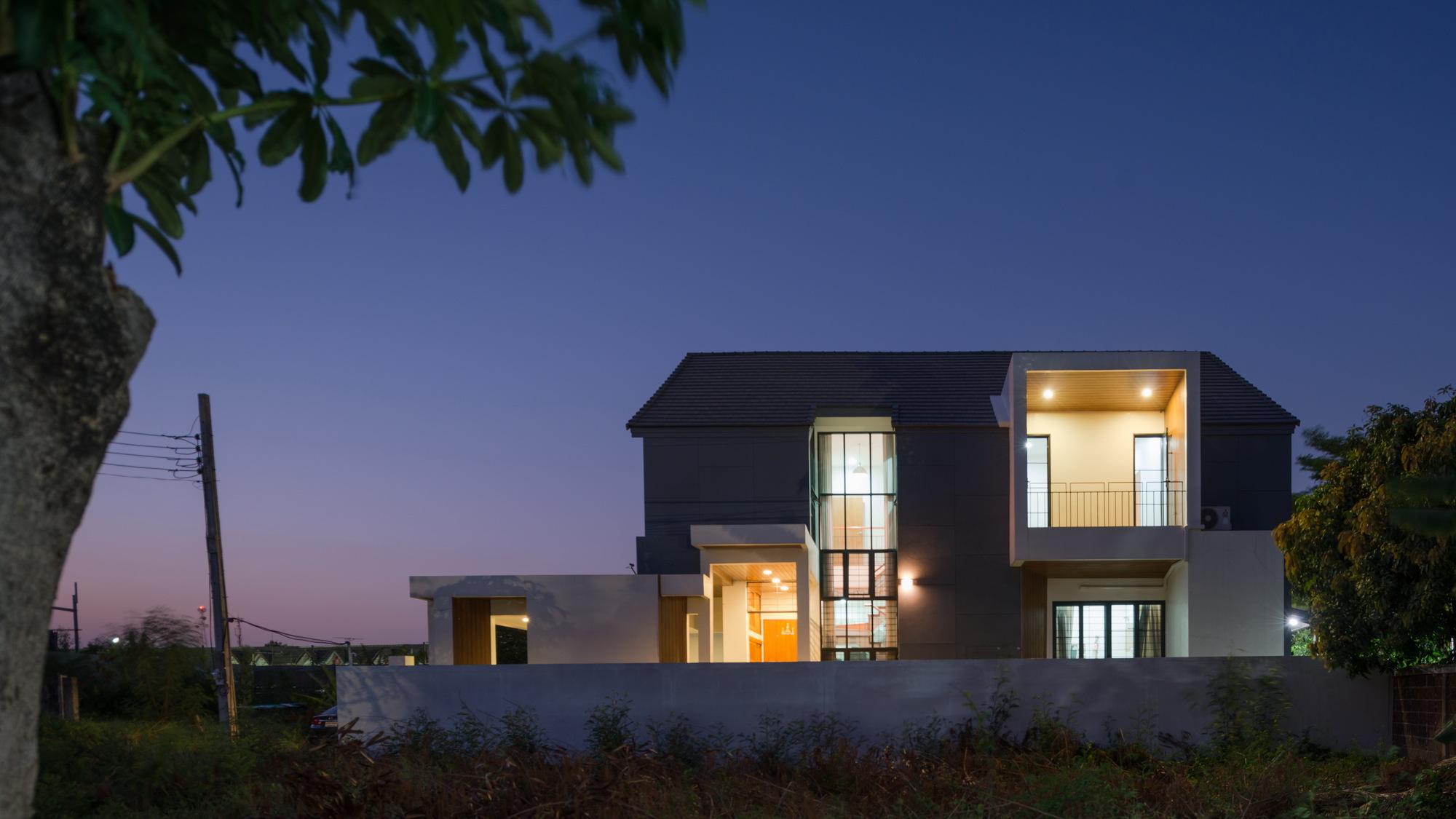 Galeria De Casa Songprapa Archimontage Design Fields