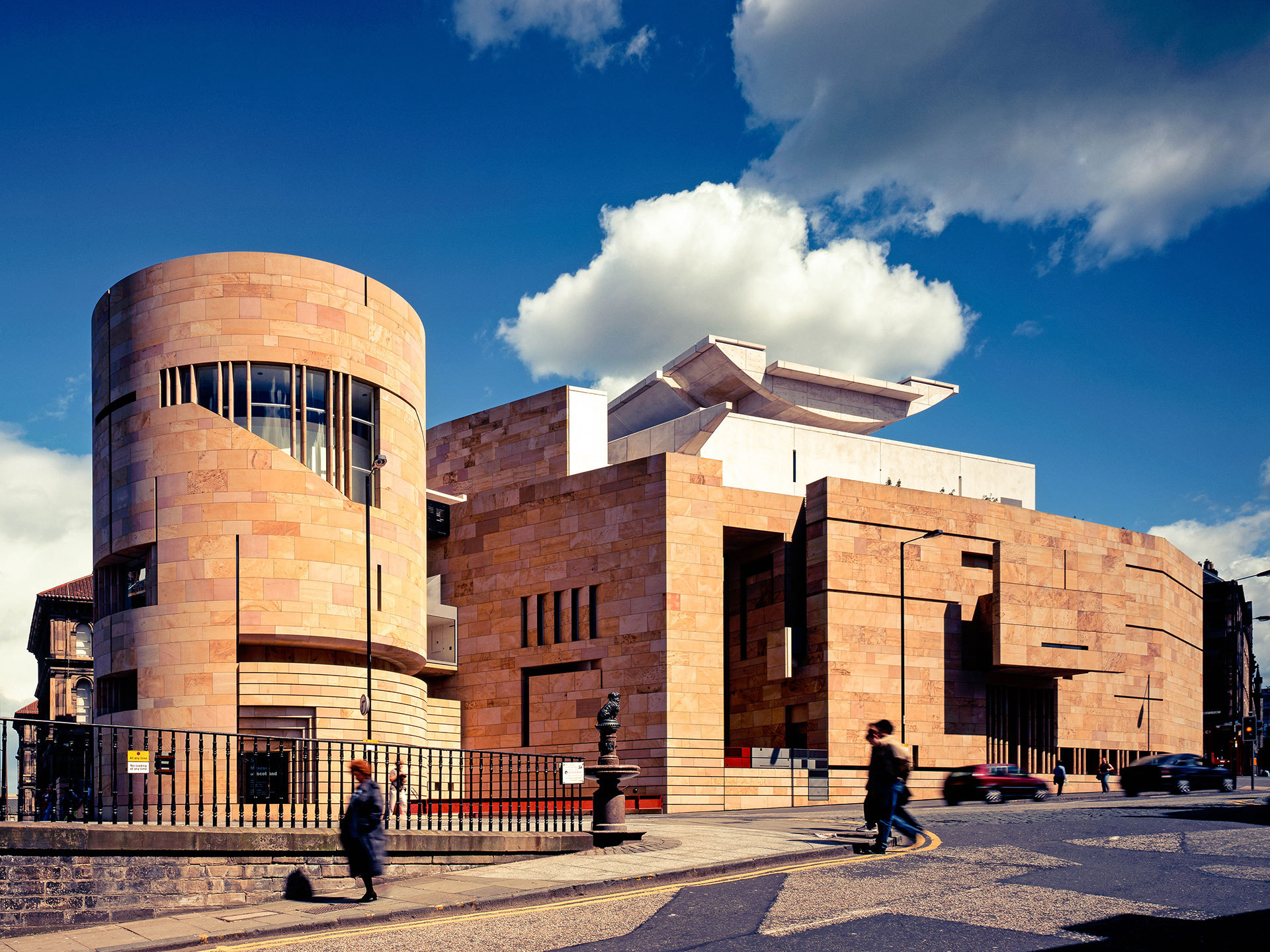 Named the top 10 buildings in Scotland over the past 100 years 21