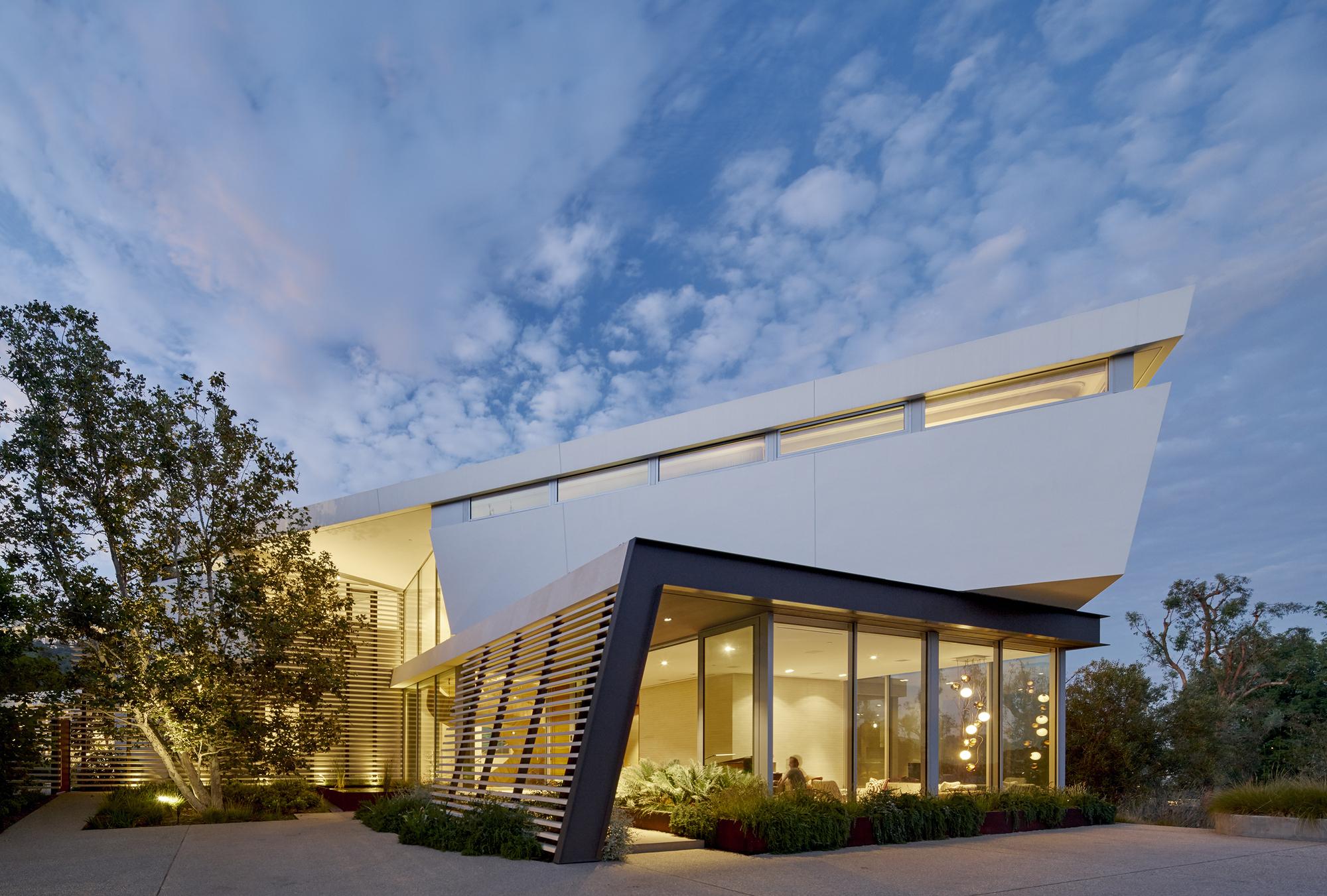Gallery of tree top residence belzberg architects 2 - Residence calistoga strening architects californie ...