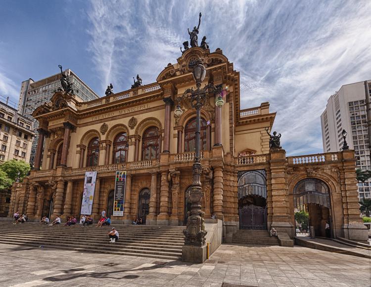 Jornada do Patrimônio - Mesa: O Theatro Municipal e as origens de uma São Paulo Moderna, Fachada do Theatro Municipal