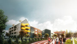 LYCS Architecture diseñan un colegio inspirándose en el dibujo de un niño