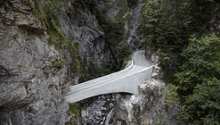 Schaufelschlucht Bridge / Marte.Marte Architects