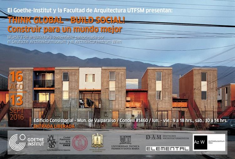 Think Global, Build Social! - Construir para un mundo mejor / Valparaíso, Foto: Cristóbal Palma