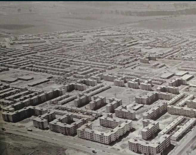 Reminiscencias de Bogotá, un patrimonio archivístico de todos, Panorámica del barrio kennedy en 1964. Desde ese año recibió este nombre, antes se llamaba Ciudad Techo. Image Cortesía de Felipe Cardona