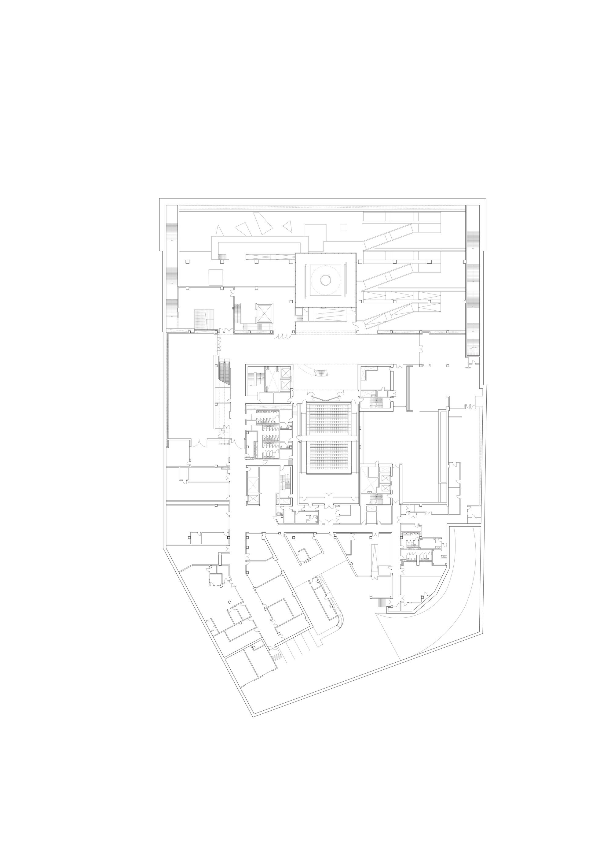 Gallery of smithsonian national museum of african american for Traditions of america floor plans