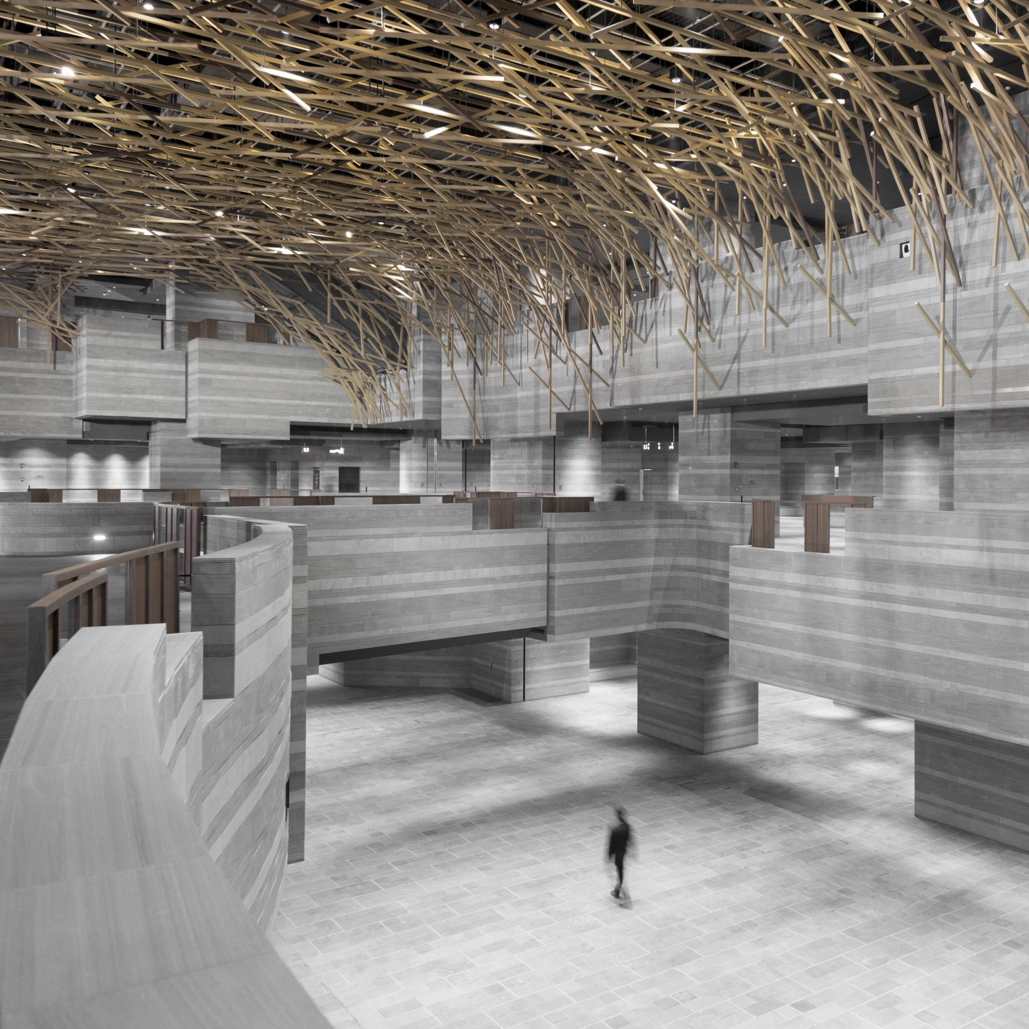 Interior Design Home Decorating Ideas: The Hub Performance And Exhibition Center / Neri&Hu Design