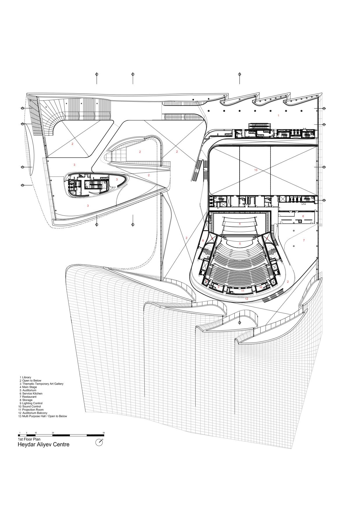 Gallery of Heydar Aliyev Center / Zaha Hadid Architects - 41