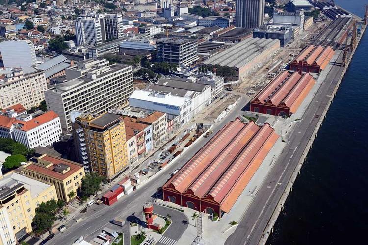 Alunos de arquitetura do Rio de Janeiro criarão projetos para áreas do Porto Maravilha, Porto Maravilha. Image via portomaravilha.com.br