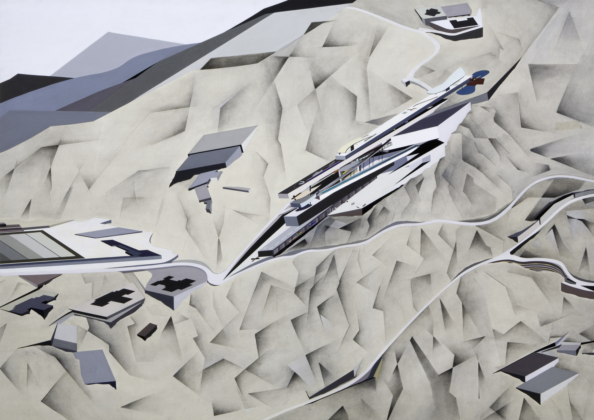 The Creative Process Of Zaha Hadid As Revealed Through Her Paintings Archdaily