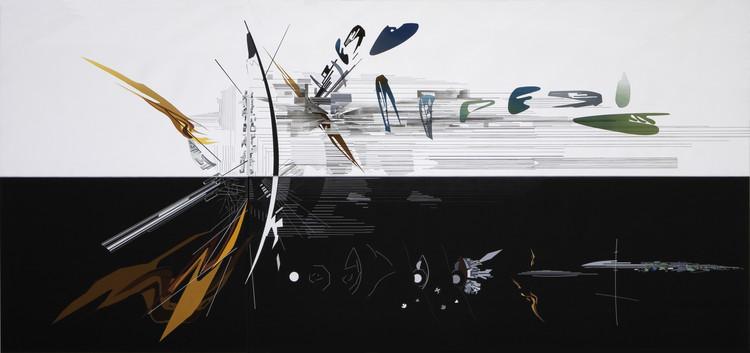 El proceso creativo de Zaha Hadid a través de sus pinturas , Vision for Madrid - 1992. Image Cortesía de Zaha Hadid