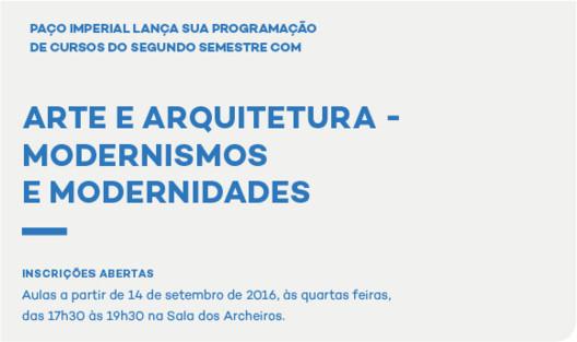 Paço Imperial do Rio de Janeiro promove quatro cursos sobre arte e arquitetura