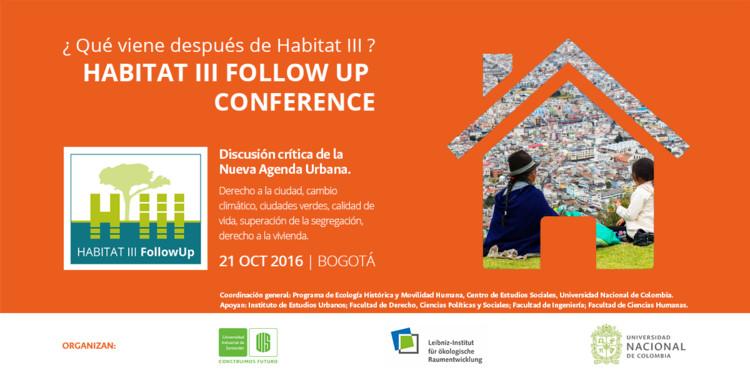 ¿Qué viene después de Hábitat III? - Habitat III Follow-Up Conference, www.sonarmediapro.com
