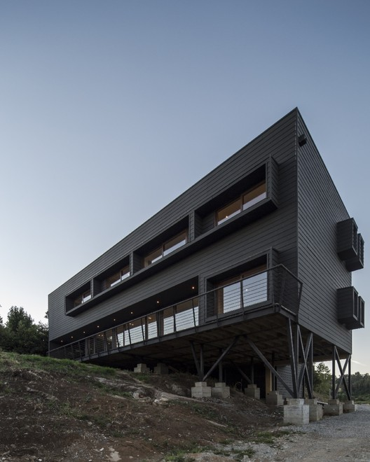 Casa Arqwa / Anf Arquitectos, ©  Aryeh Kornfeld