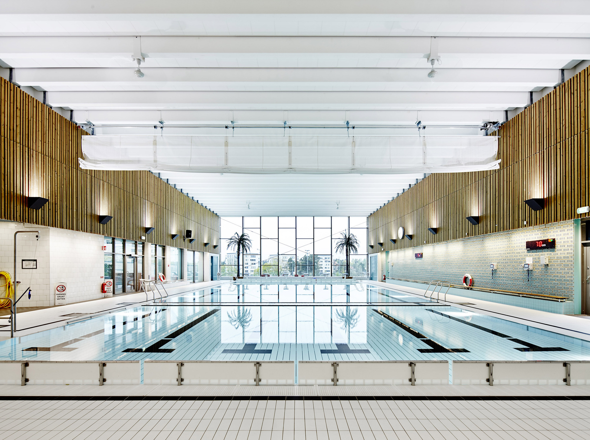 Indoor Swimming Pool for Sundbyberg / Urban Design | ArchDaily
