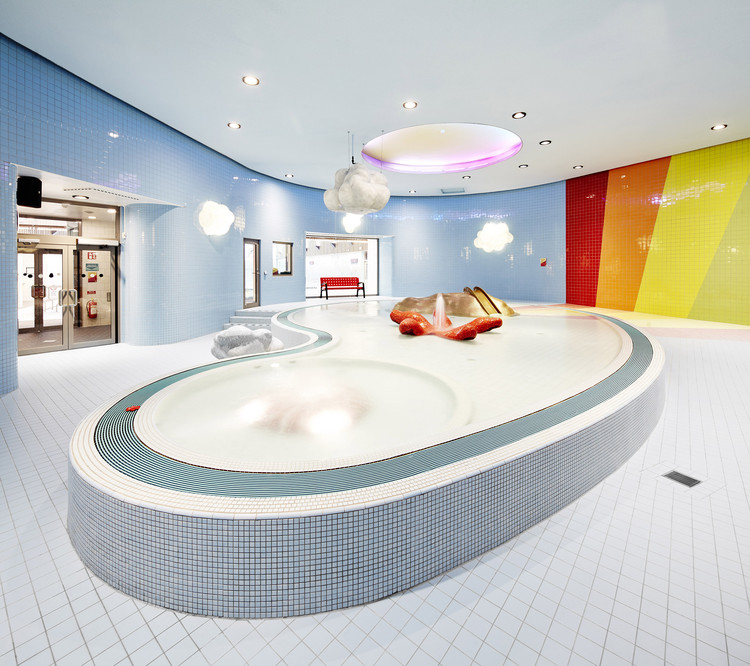 Indoor Swimming Pool For Sundbyberg Urban Design Archdaily