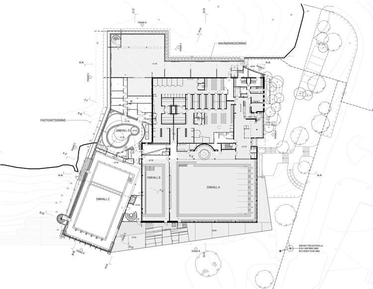 Indoor Swimming Pool For Sundbyberg