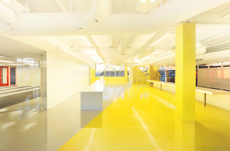 Lehrer architects office design Los Angeles Courtesy Of Lehrer Architects Archdaily Unite Here Health La Office Lehrer Architects Archdaily