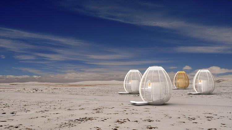 """""""Sky Retreat"""", um projeto em harmonia com a paisagem chinesa, Cortesia de Gabriel Gomera Studio"""