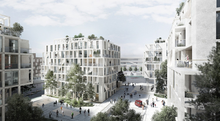 Tredje Natur, AART Architects and Arup Team Up for Copenhagen Island Competition Proposal, © TREDJE NATUR, AART ARCHITECTS AND ARUP