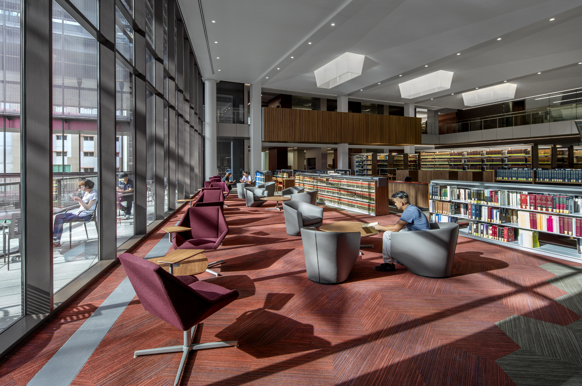 Gallery of beus center for law and society ennead Arizona state university interior design