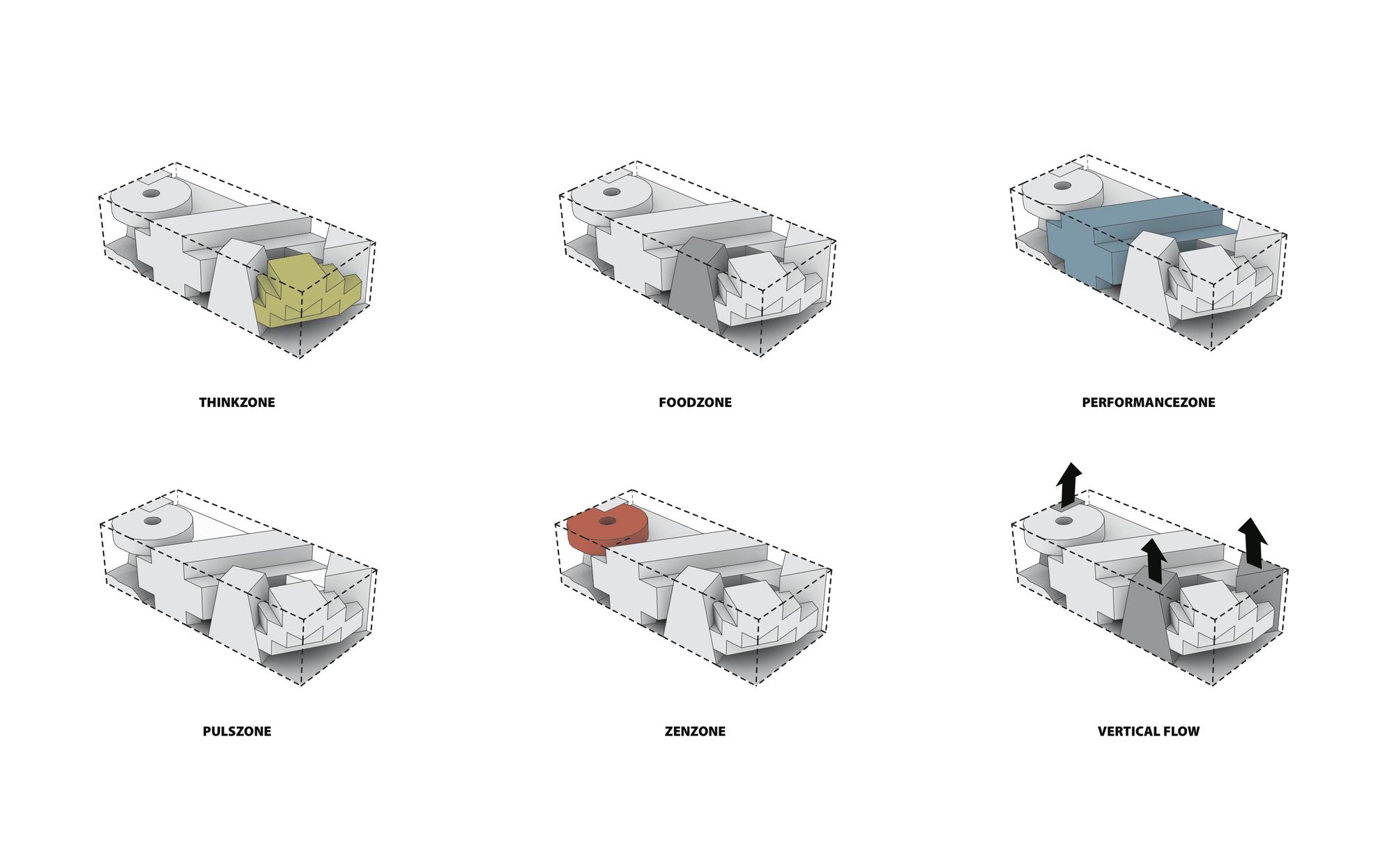 Galer a de casa de cultura en movimiento ku be mvrdv for Movement architecture concept