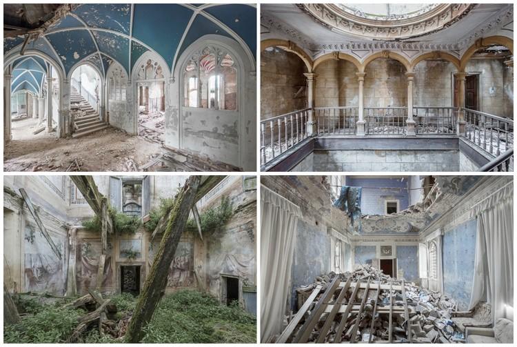 Photographer Mirna Pavlovic Captures the Decaying Interiors of Grand European Villas, © Mirna Pavlovic