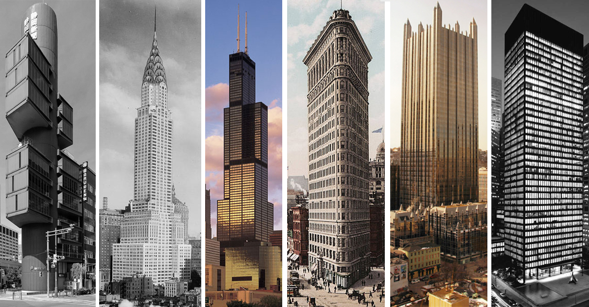 The stories behind 17 skyscrapers high rise buildings for Modern high rise building design