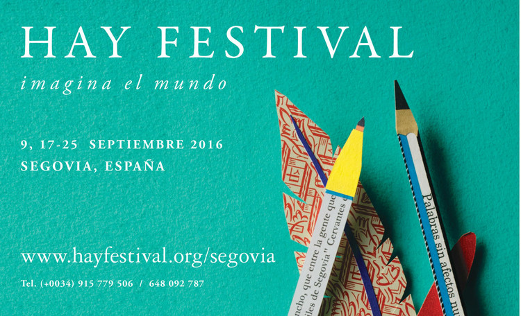HAY Festival Segovia 2016 [¡sorteamos 7 pases dobles!]