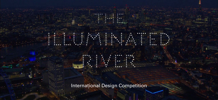 Diller Scofidio + Renfro, Adjaye Associates Among Firms Shortlisted for London's Illuminated River Competition, via Malcolm Reading Consultants