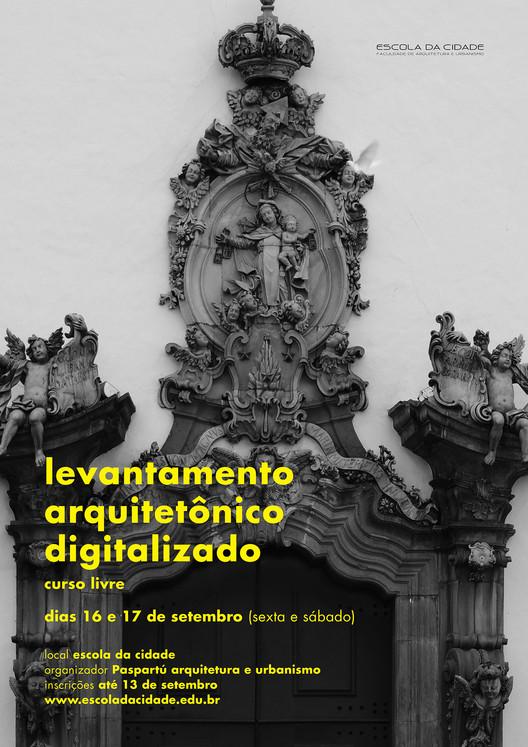 Escola da Cidade promove curso sobre levantamento arquitetônico digitalizado