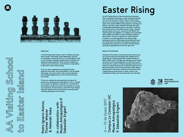 EASTER RISING AA Visiting School / Isla de Pascua, Easter Rising poster