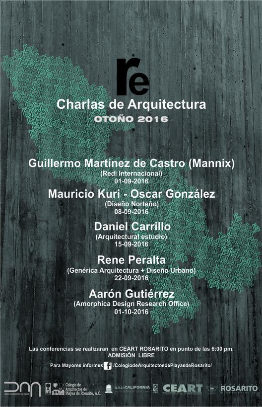 Re Charlas de Arquitectura / Rosarito, Baja California, DNA STUDIO