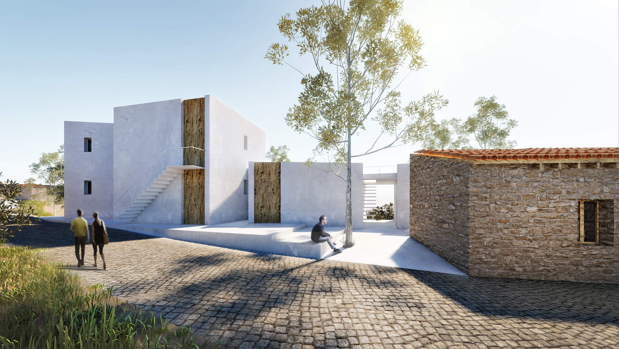 petras architecture u0026 39 s prize winning entry in cyprus  u0026quot cultural village u0026quot  competition