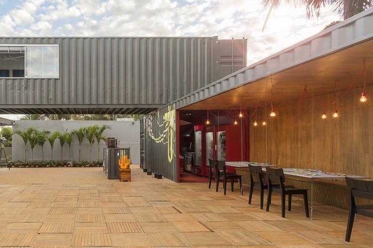 Restaurante Container  / MEIUS Arquitetura + Bernardo Horta Arquiteto  + Zargos Arquitetos, © Henrique Queiroga