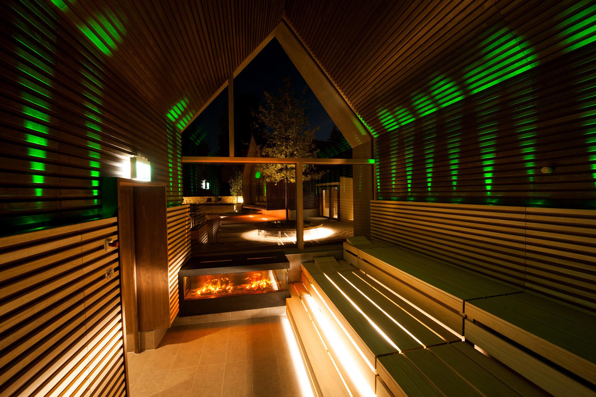 Gallery of jordanbad sauna village jeschke architektur planung 14 - Sauna architektur ...