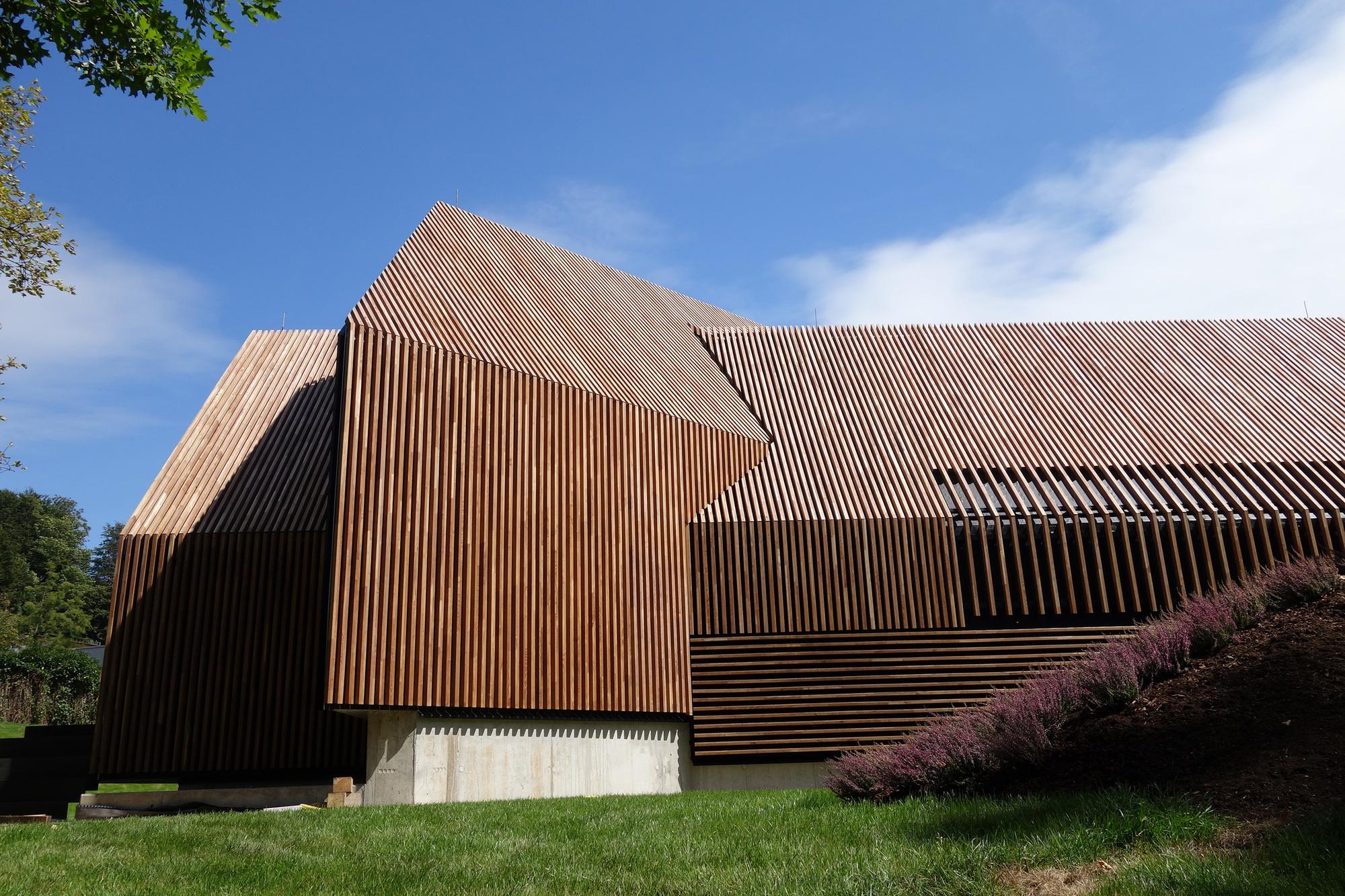 Gallery of jordanbad sauna village jeschke architektur planung 3 - Sauna architektur ...