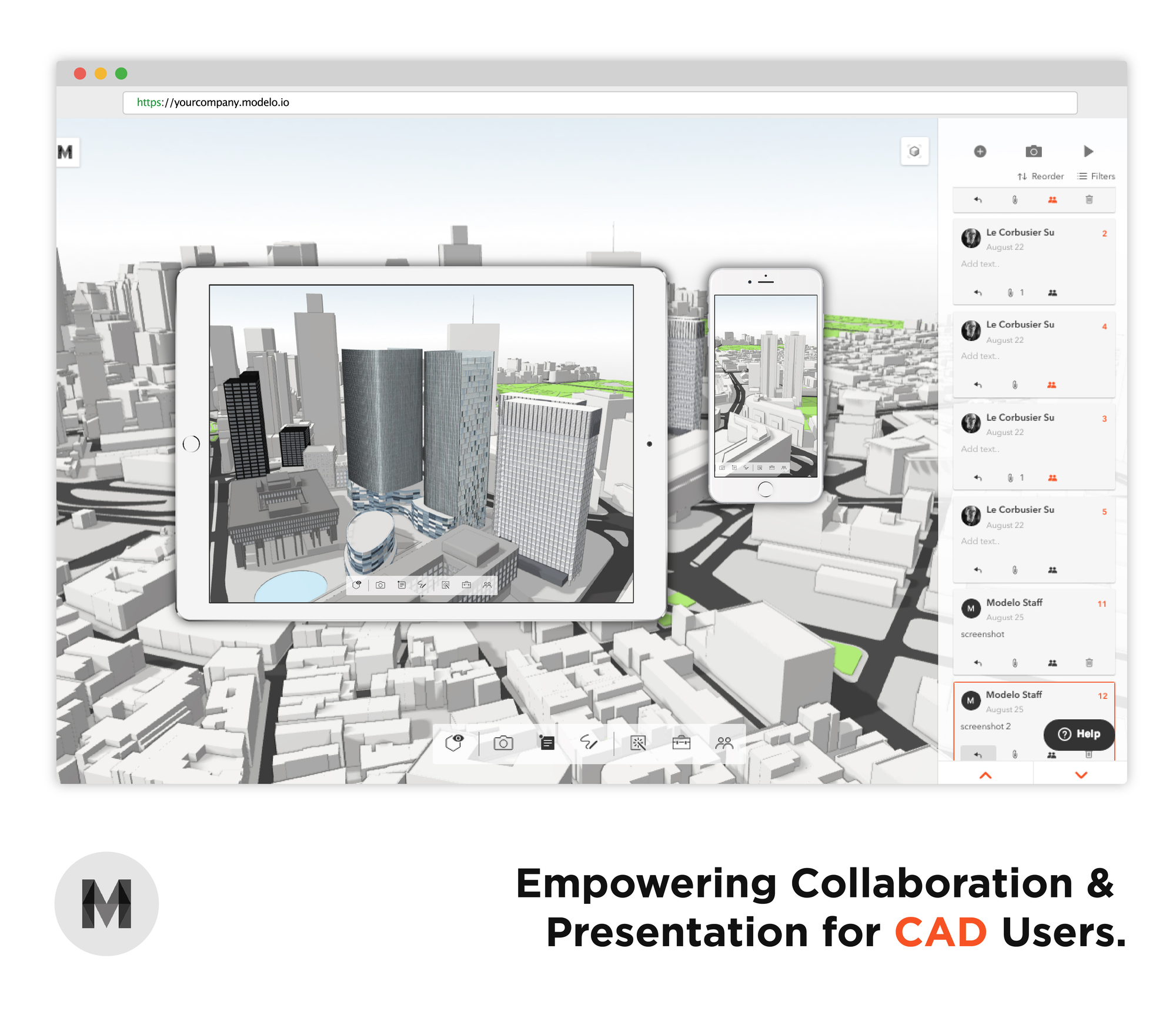 Modelo Empowers Collaboration and Presentation for
