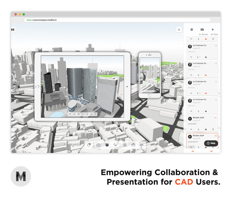 Modelo Empowers Collaboration and Presentation for Architects, via Qi