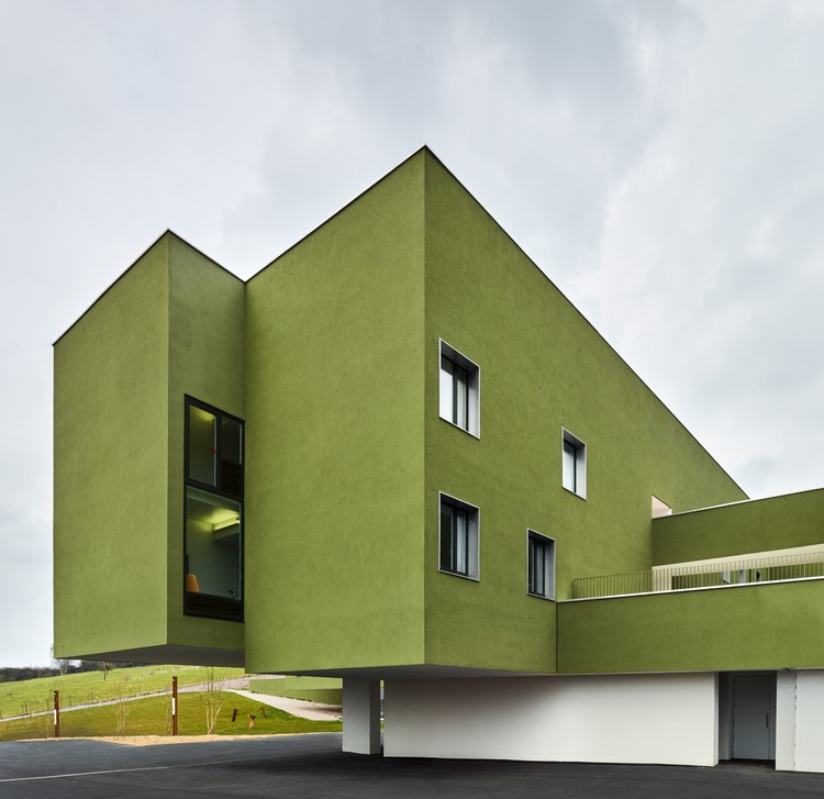 Home for Dependent Elderly People and Nursing Home / Dominique Coulon & associés, © Eugeni Pons