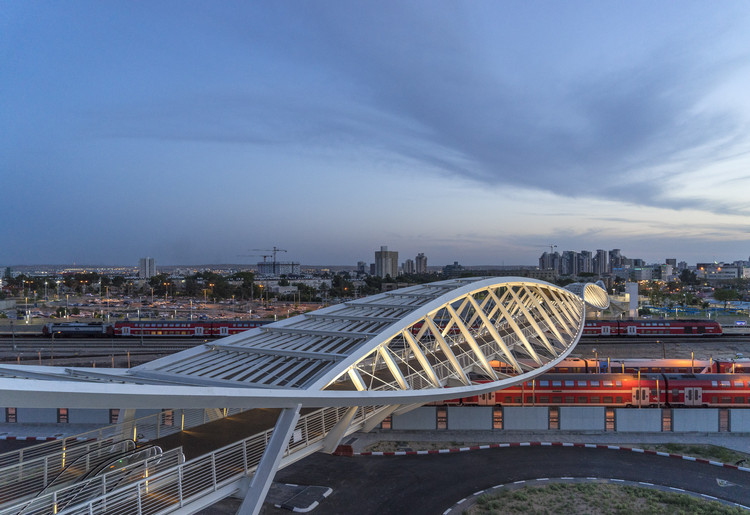 The High-Tech Park Bridge / Bar Orian Architects, © Amit Geron