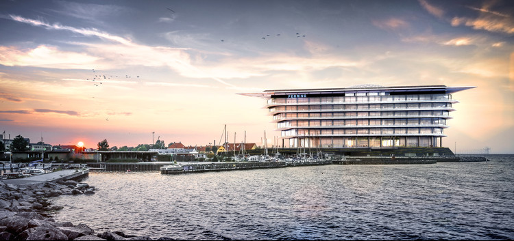 Foster + Partners Breaks Ground on Pharmaceuticals Headquarters on Copenhagen Waterfront, © Foster + Partners