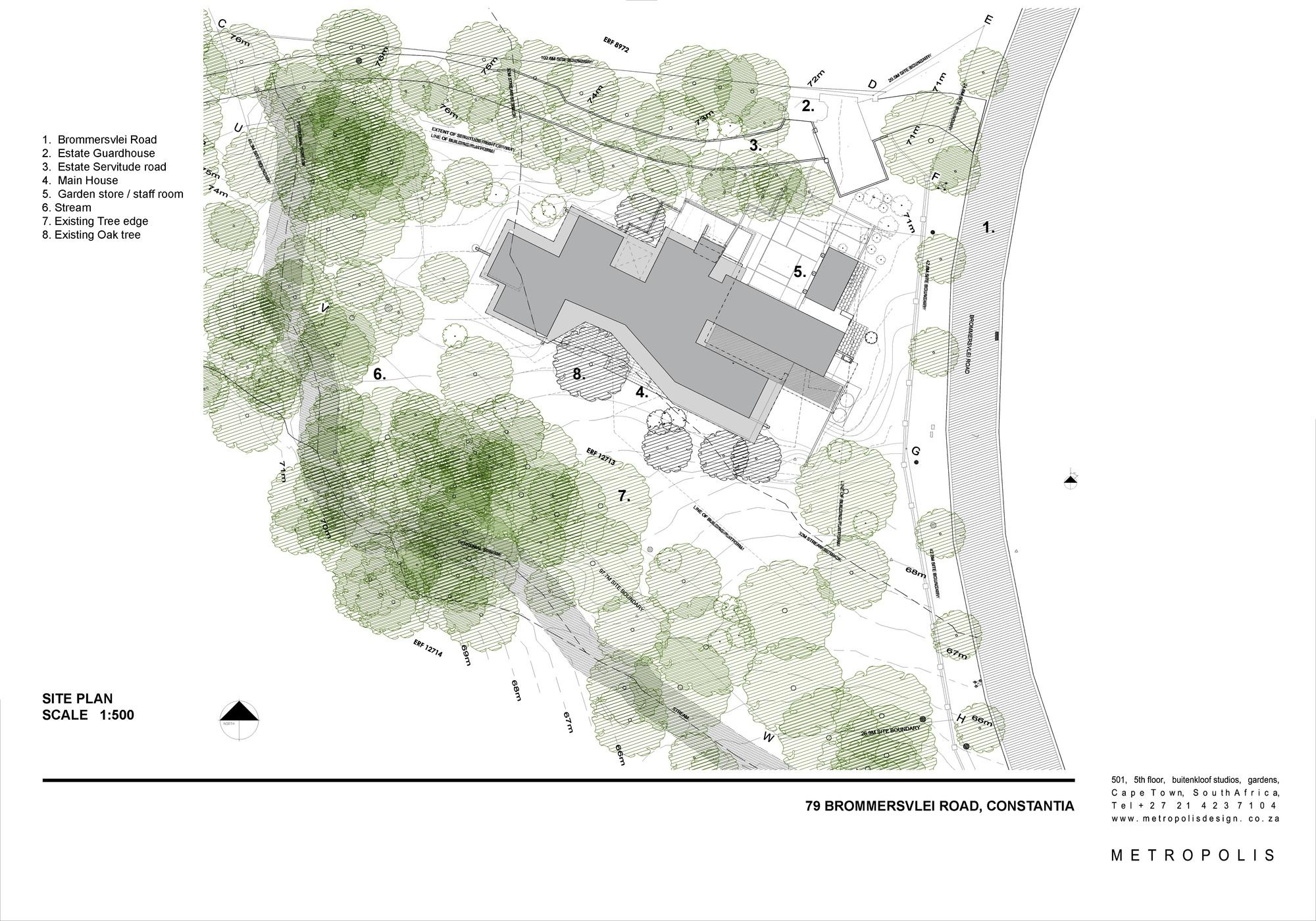 Gallery of House in Constantia Valley / Metropolis Design - 20