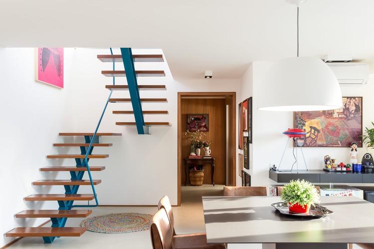 Cobertura Duplex  / Lacaz Broggin Arquitetura e Engenharia, © Ricardo Bassetti