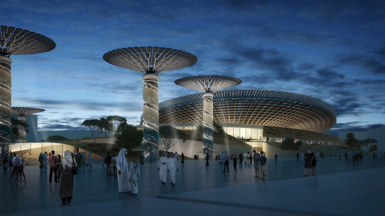 Grimshaw to Design Sustainability Pavilion at Expo 2020 Dubai, Courtesy of Grimshaw