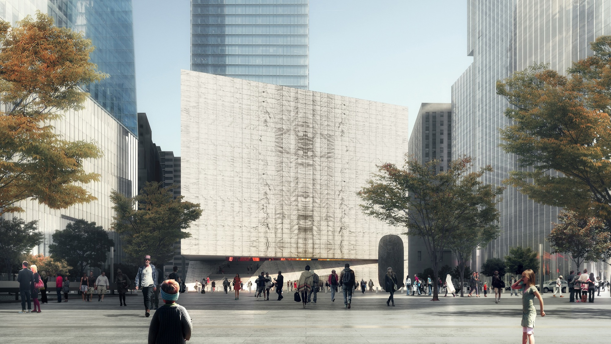 Gallery Of Rex Reveals Design Of Perelman Performing Arts