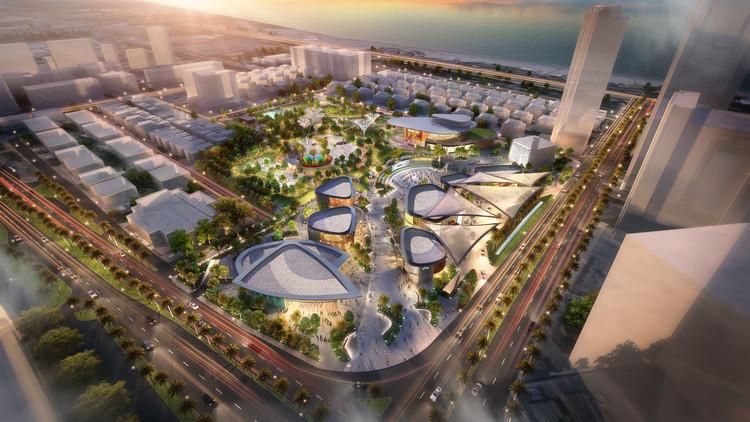 Benoy presenta imágenes de nuevo parque urbano en Abu Dhabi , Cortesía de Benoy