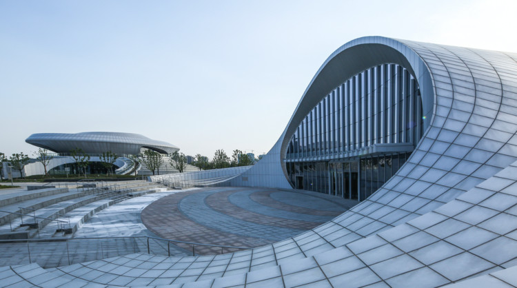 Kunshan Electronic and Bicycle Pavilion  / SIADR, © Xianliang Zeng