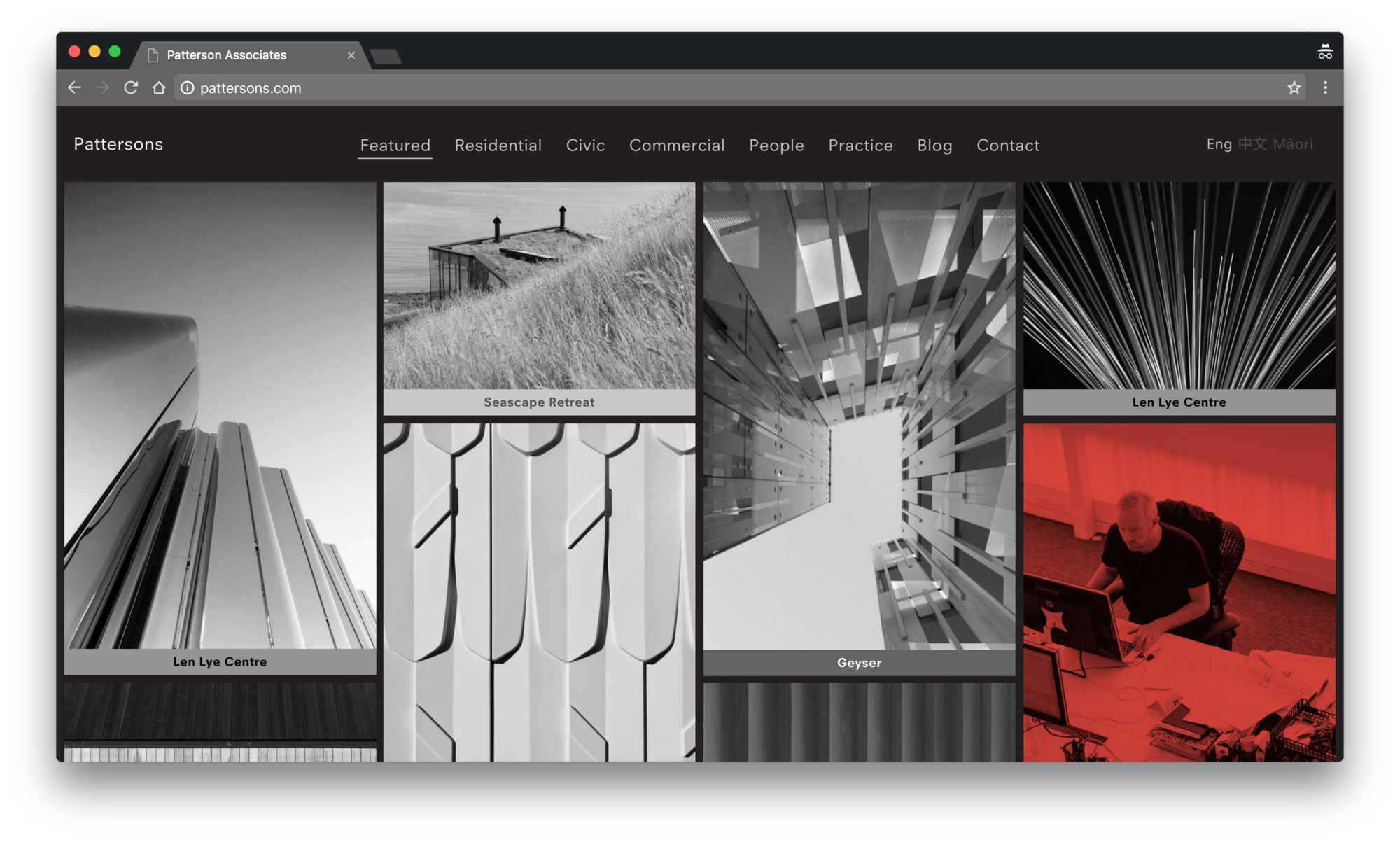 architecture websites firm useful designed most pattersons these