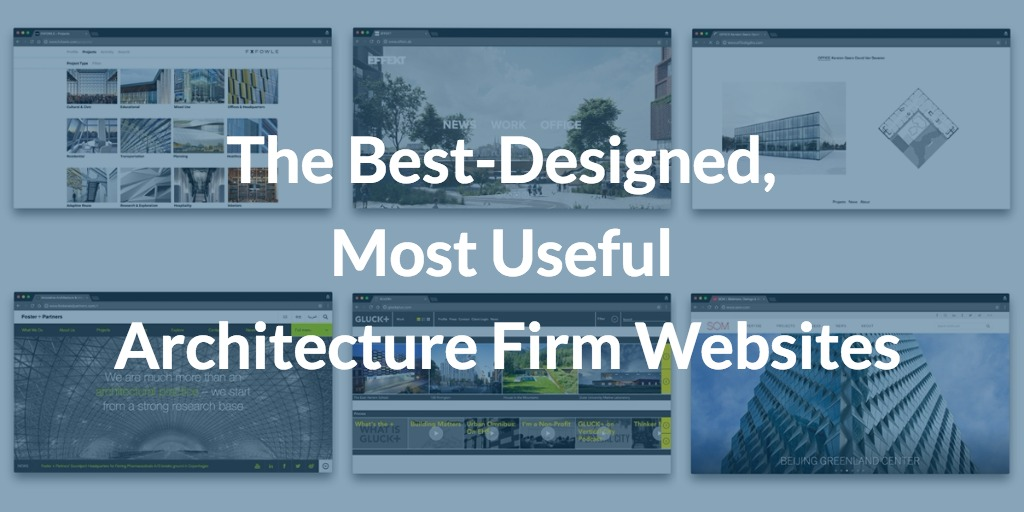 These Are The Best Designed, Most Useful Architecture Firm Websites |  ArchDaily