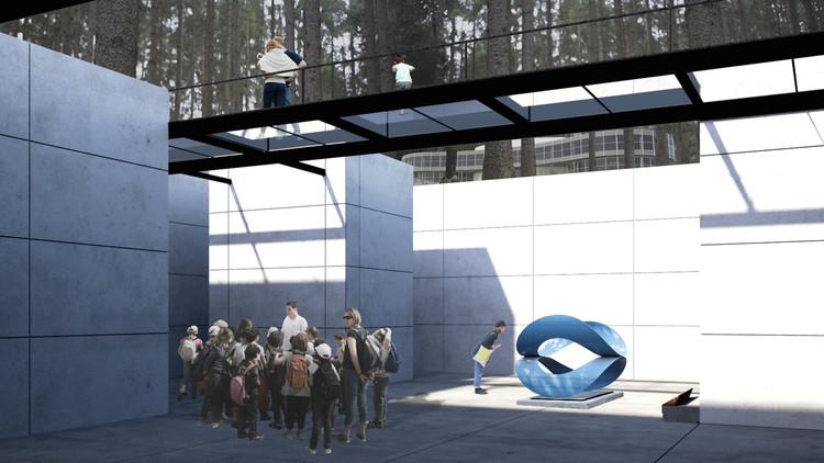 Primer lugar del Concurso para la Ampliación del Museo de Arte Moderno de Ciudad de México, Cortesía de Camila Ureña Peña
